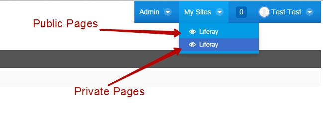 Navigate pages
