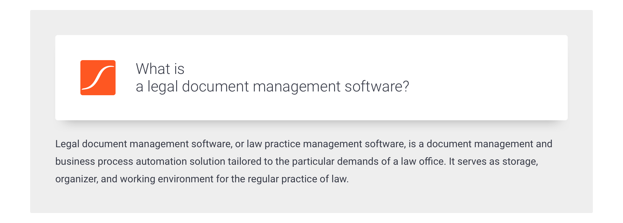 What is a legal document management system