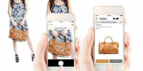 Design of visual search in ecommerce app