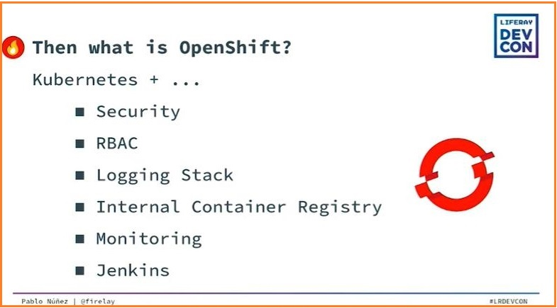 Developing Liferay on Kubernetes or OpenShift