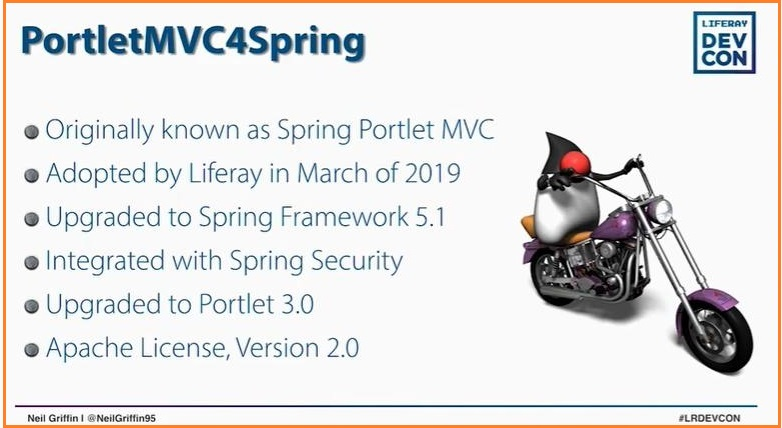 PortletMVC4Spring introduction