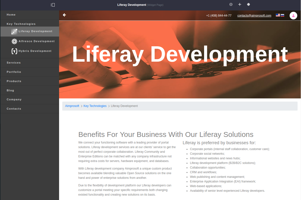 Example of Liferay 7 theme creation