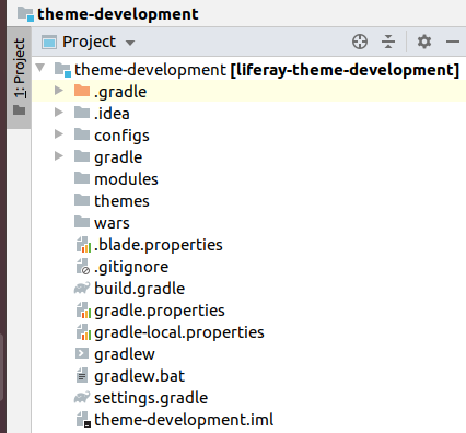 New Theme Files Structure