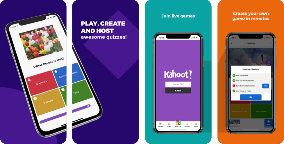 Image 5. Interface of Kahoot! for iOS