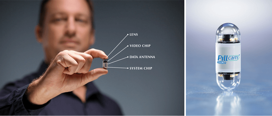 Ingestible sensor as an example of the Internet of Things benefits in healthcare