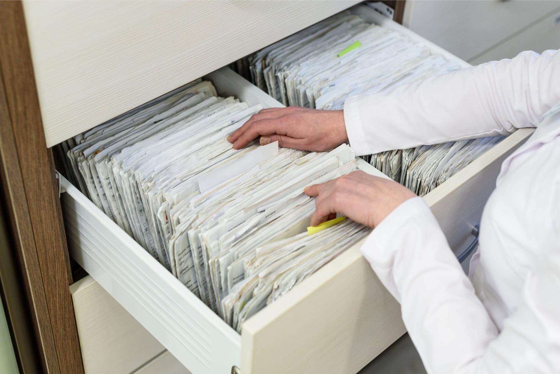 Paper-based hospital management